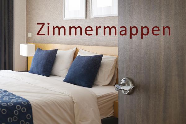 Zimmermappen Hotelmappen Auswahl Speisekarten 24