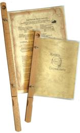 Zeitungshalter Speisekarten 3 Größen Holz Natur (Buche) für Hüllen oder für Blätter.